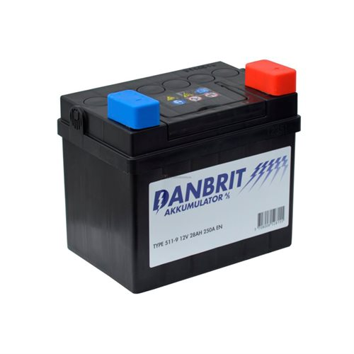 Danbrit Batteri -  Plus Venstre